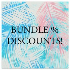 We love to bundle and save you shipping $!